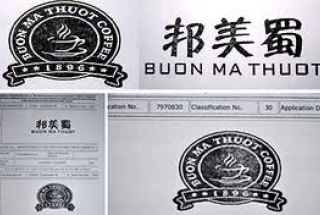 "The cancellation action against ""Buon Ma Thuot Coffee"" was successful in China"